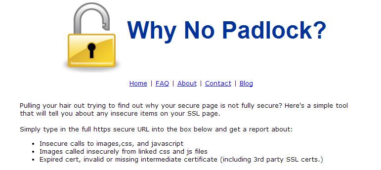 why_no_padlock