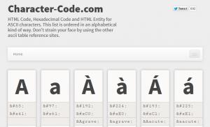 Character Codes -- HTML Codes, Hexadecimal Codes & HTML Names ❤ ❤ 2014-05-28 15-24-16